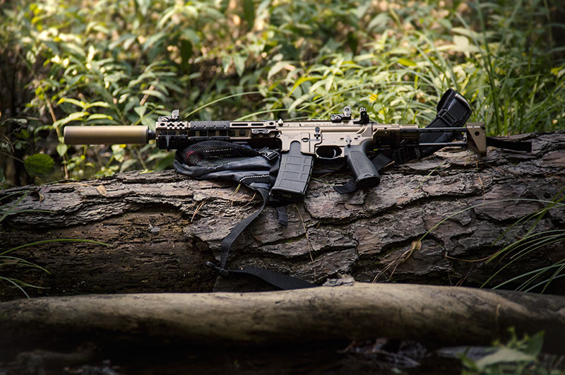 WAR rifle-woods